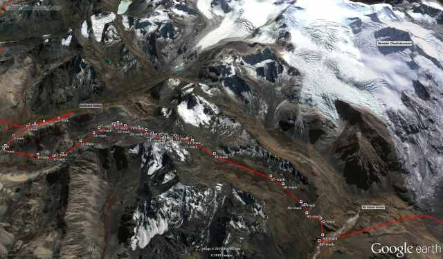 Trans-Cordillera Real Day 6 (Rio Kellhuani to Rio Chachakumani)
