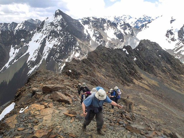final stretch to Pico Austria