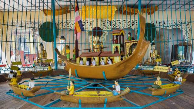 a reminder of Bagu's past as a sea port