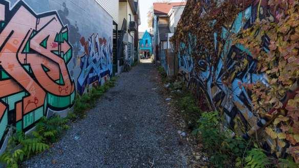another Kensington alleyway