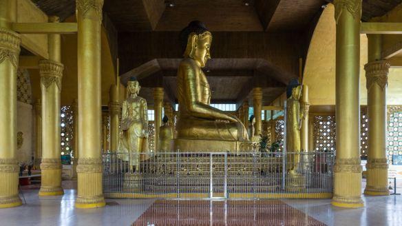 central shrine of a monastery