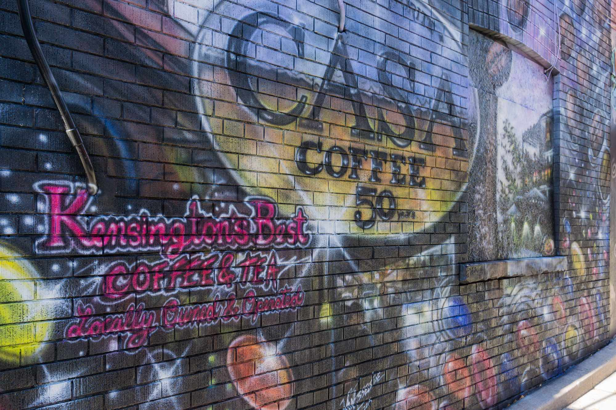 Graffiti wall toronto downtown - Graffiti In The Service Of Commerce