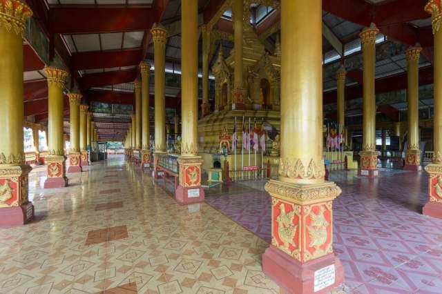 Hintha Gon's central shrine