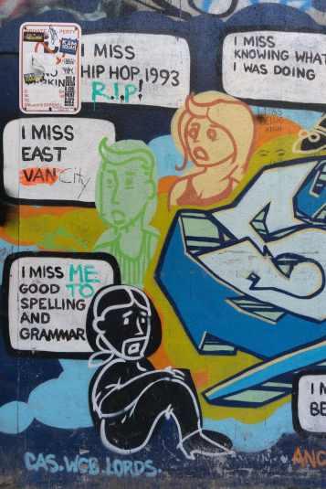 I Miss Hip Hop 1993 - left side