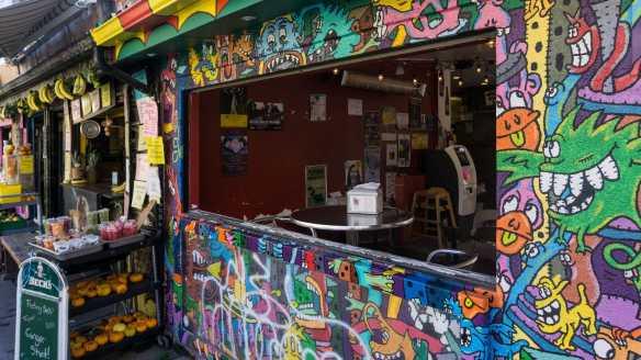 Kensington Market corner - café