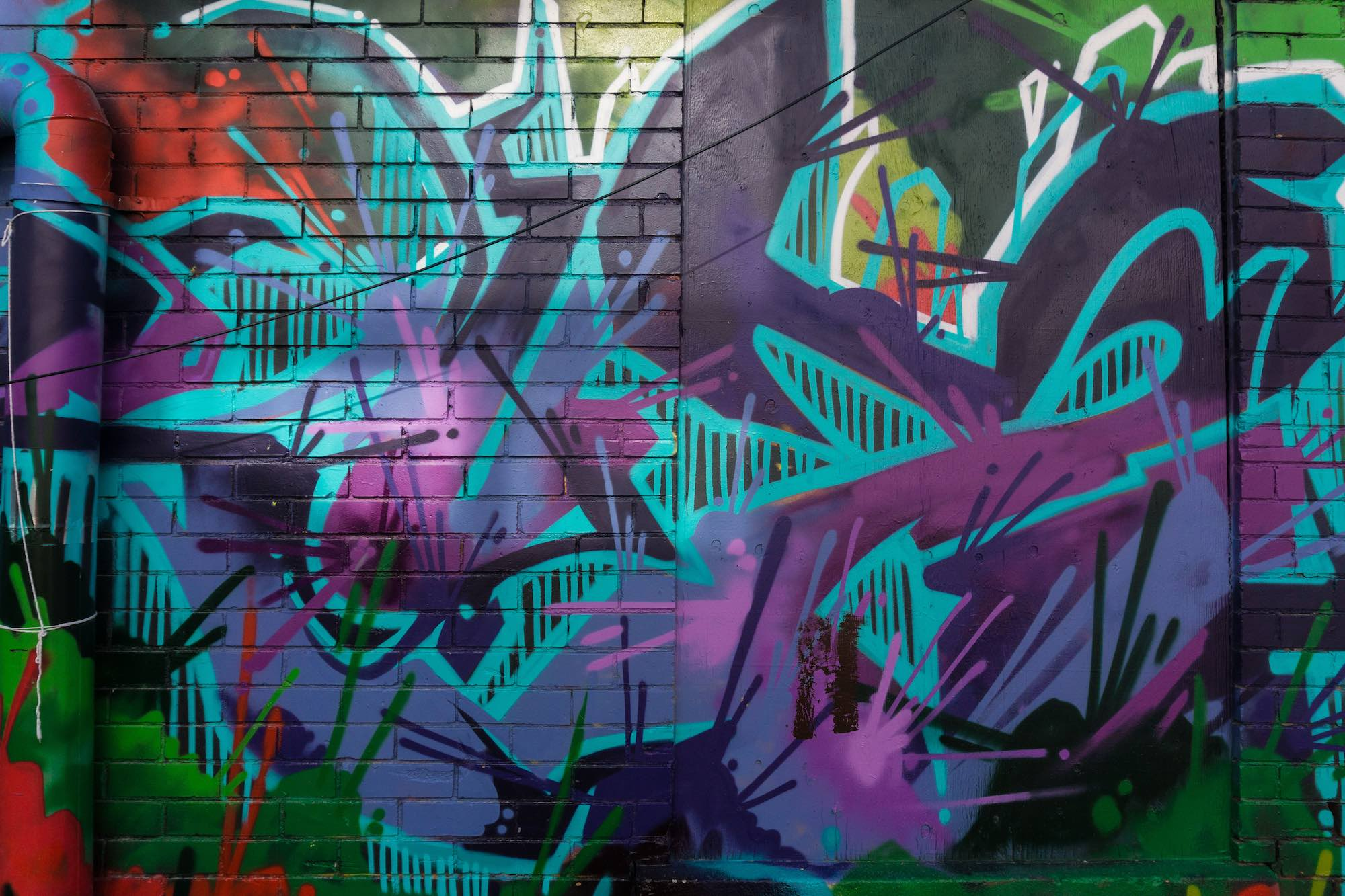 Graffiti wall toronto downtown - Kensington Meaning Unclear And Perhaps Irrelevant