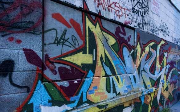 Meh graffiti