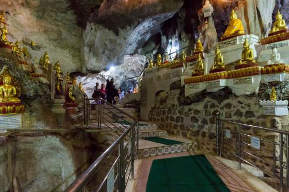 Pindaya cave - a new less claustrophic wing