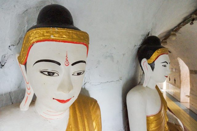 Shwegugale Pagoda - Buddhas