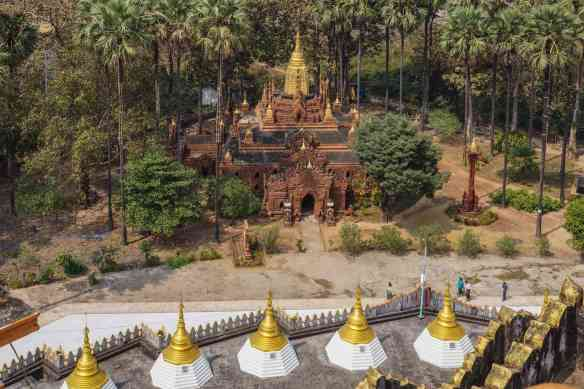 temple below the Mahazedi in Bago