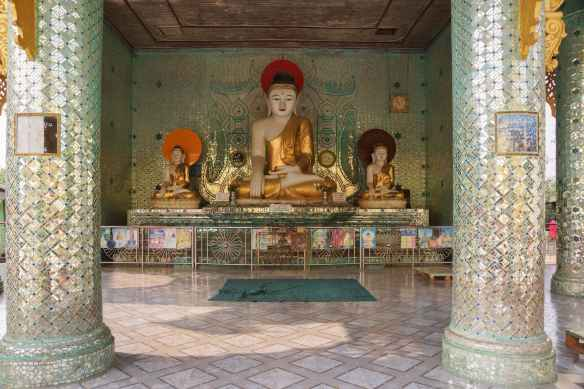 the center of the above shrine room