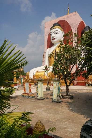 the Kayak Pun Buddha pillar