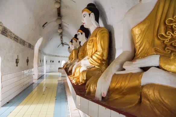 the Shwegugale Pagoda interior