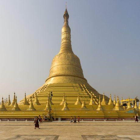 Bago's Shwemawdaw Pagoda and terrace