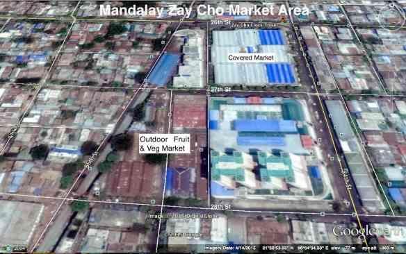 zay-cho-market-area- mandalay Burma