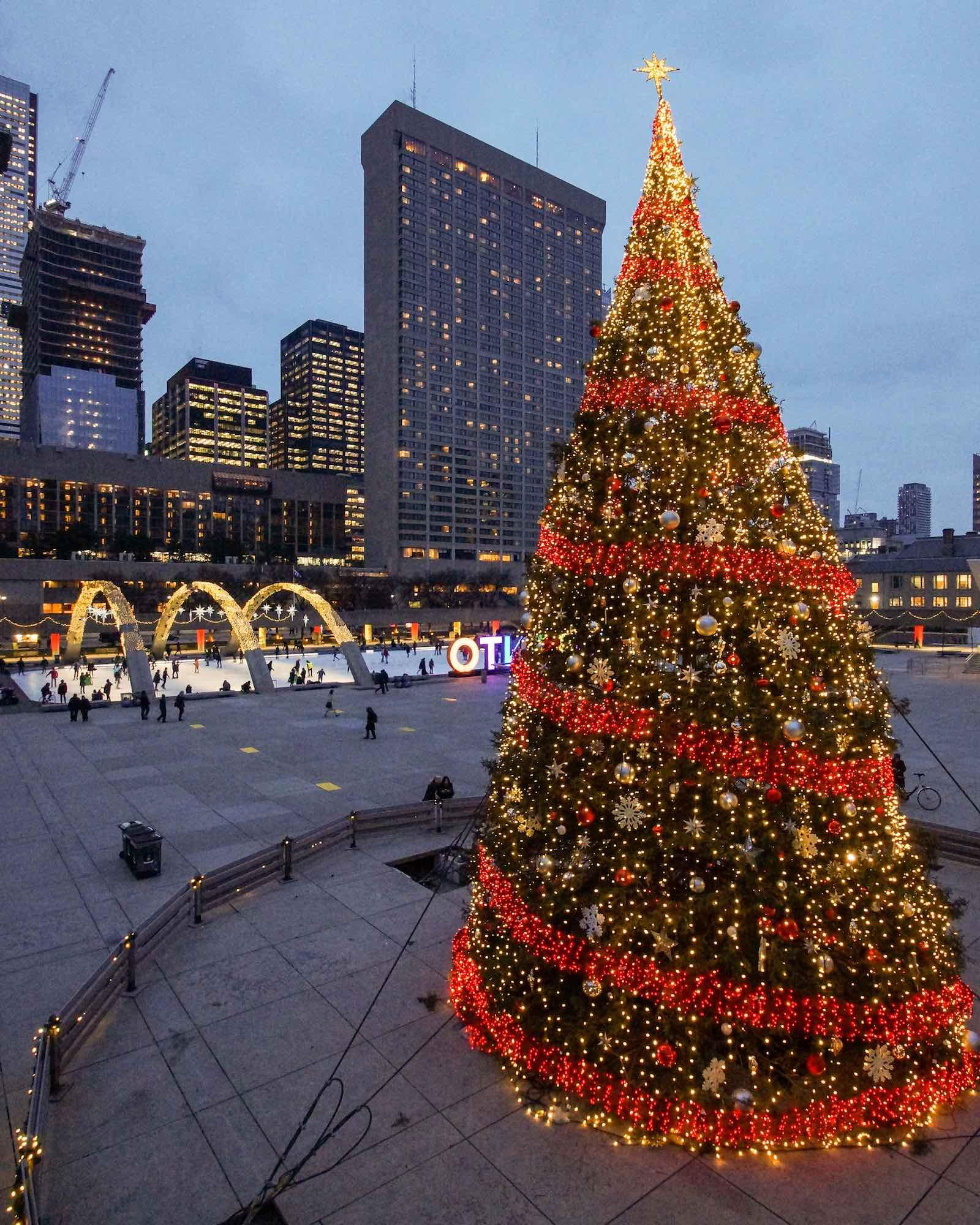 City Lights: My Toronto In Mid-December