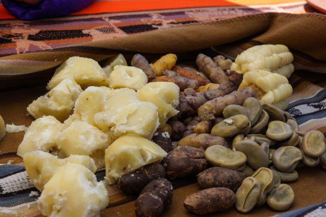 an Aymara campesino lunch