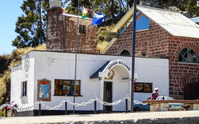 Bolivian Navy Outpost at San Pedro de Tiquina