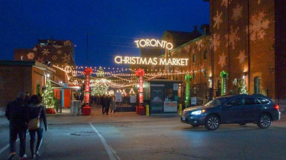 Distillery District - the Christmas Market