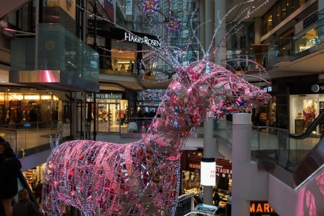 eaton center reindeer