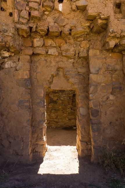 Isla de la Luna - entrance to small chamber