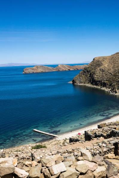 isla del Sol beach - a little slice of paradise