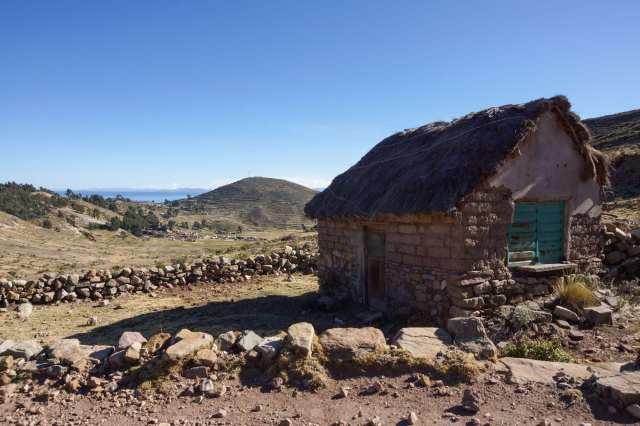 Isla del Sol's pequeña Comunidad de Challa