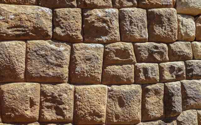 stonework at Isla de la Luna