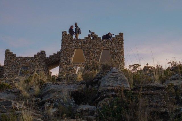 the look-out tower on Cerro Palla Khasa on Isla del Sol