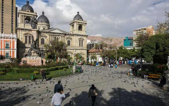 La Catedral at Plaza Murillo
