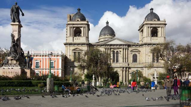 La Catedral on Plaza Murillo La Paz