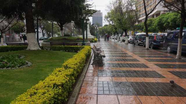 El Prado near La Plaza del Estudiante