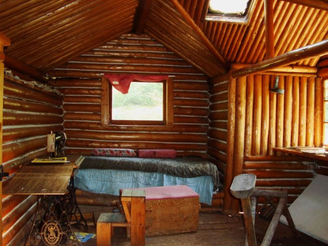 beckwith cabin interior
