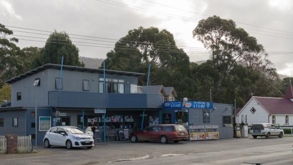 Central Business District Adventure Bay Bruny Island
