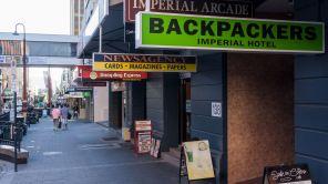 Collins Street in Hobart