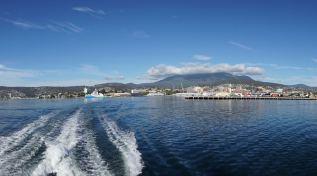 Hobart Waterfront and Mount Wellington