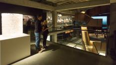 MONA - a view of the various floors