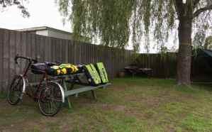 my Triabunna tent spot