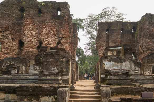 ruins of the Parakramabahu's Palace - another view