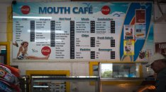 Scamander wall menu