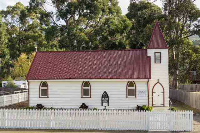 St. Paul's Anglican Church on Tasmania's Bruny island