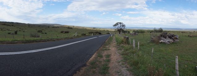 stretch of road S of Bicheno