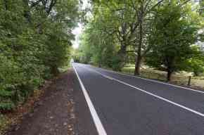 the road from Swansea to Bicheno