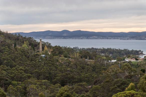 the Taroona Shot Tower from the south