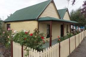 Triabunna cottage on Main Street