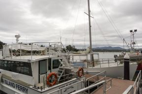 Triabunna dock - Maria Island Ferry