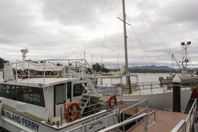 Triabunna dock - Maria Island Ferry