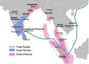 Chola Empire around 1100 C.E.