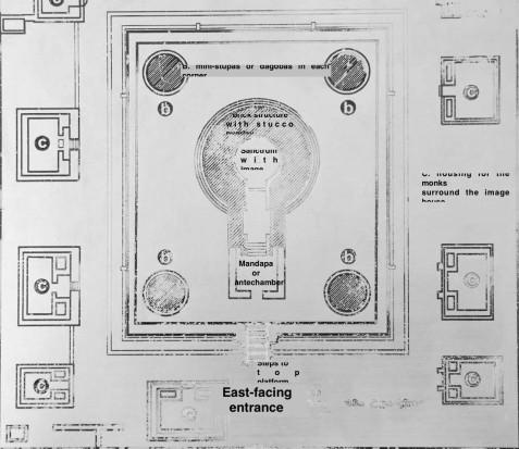 Potgul Vihara image house floor plan