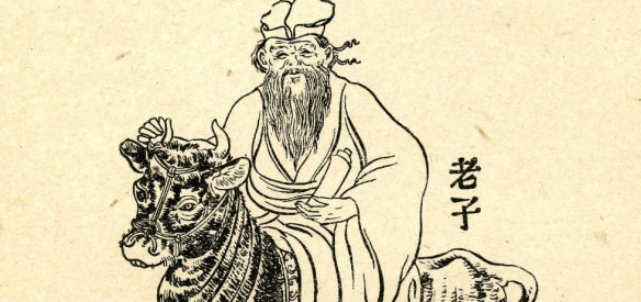 the legendary Lao Tzu on his water buffalo heading into the Himalayas
